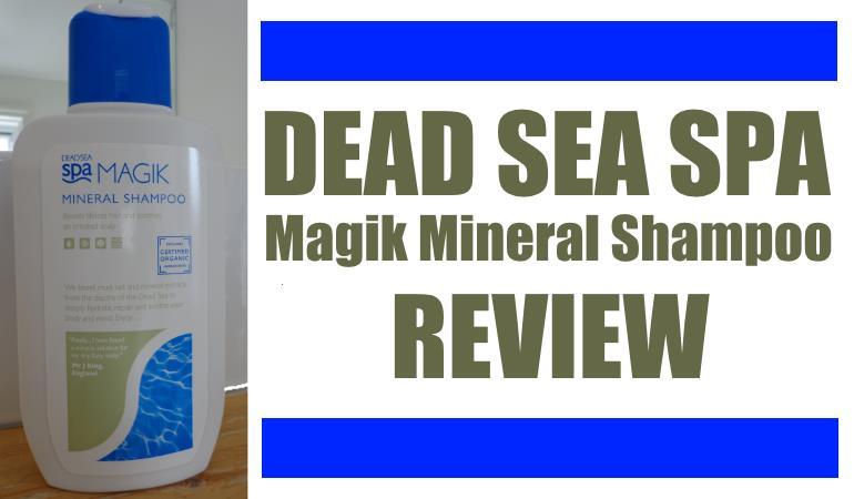 dead sea spa magik mineral shampoo review