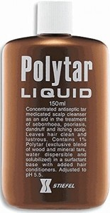Polytar Liquid Medicated Scalp Cleansing Shampoo