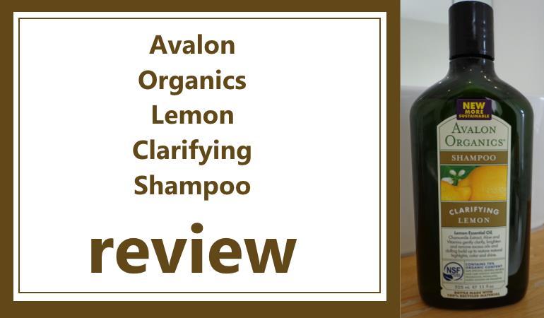 avalon organics clarifying lemon shampoo review