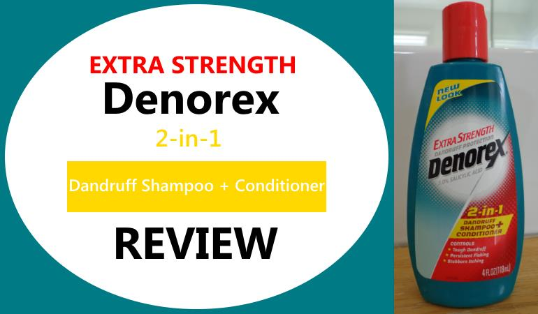 extra strength denorex dandruff shampoo review