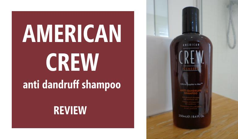 american crew anti dandruff shampoo review
