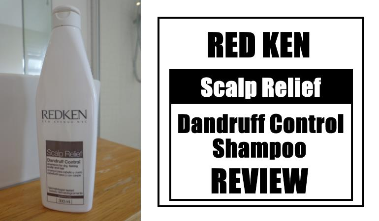 red ken scalp relief dandruff control shampoo review