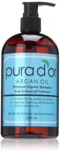 Pura Dor Argan Oil Scalp & Dandruff Treatment