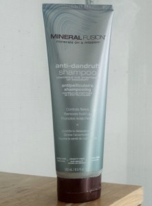 mineral fusion anti-dandruff shampoo bottle