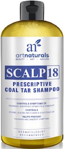 scalp 18 coal tar shampoo bottle