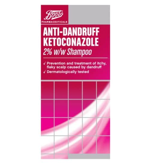 boots 2% ketoconazole shampoo
