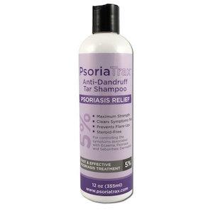 Psoriatrax Anti-Dandruff Tar Shampoo