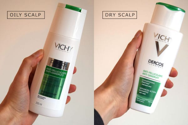 Review Vichy Dercos Oily Dry Hair Dandruff Shampoo