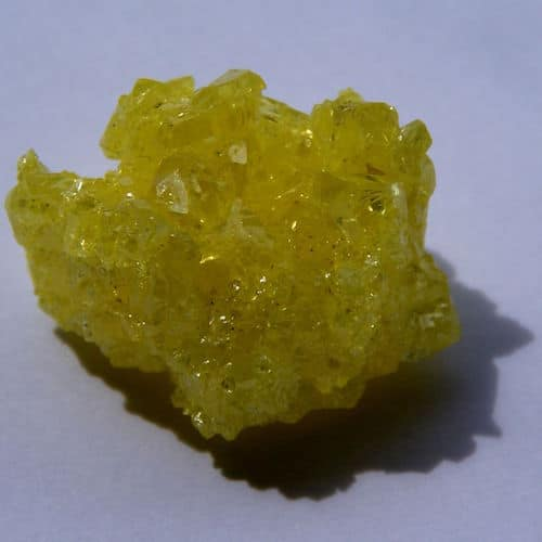sulfur crystal